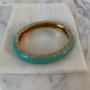 Stella & Dot Turquoise & Gold Bangle